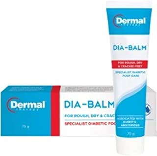 DIA-BALM: the Specialist Foot Care Cream by Dermal Therapy.