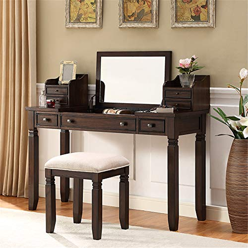 Best Buy! Dressing Tables Dressing Table Solid Wood Dressing Table American Dressing Table Small Apa...