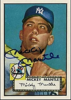 Best mickey mantle autographed rookie card Reviews