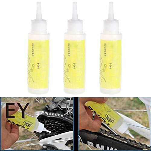 Funihut kettingolie, 50 ml, speciaal voor fietsen, ketting met smeermiddel en reinigingsmiddel voor mountainbike-olie, smeermiddel, wielrennen, reparatie van vet