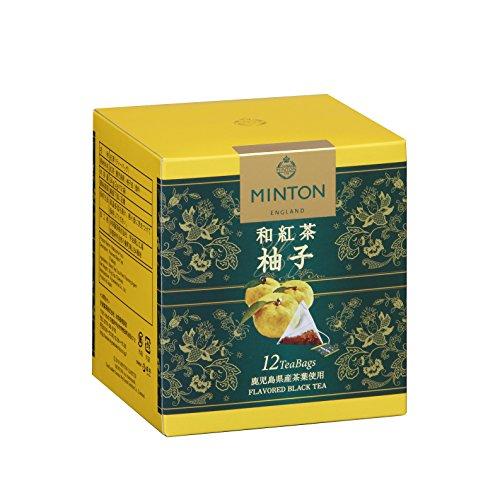 ミントン 和紅茶 柚子 12p×3箱