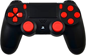 Red Out Master Modded PS4 Controller, Black Ops 3, All Games