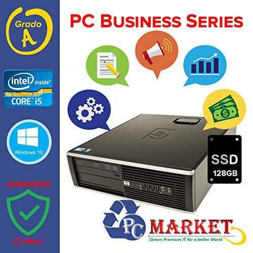 HP Compaq Pro 6300 SFF CPU i5-3330 @3,00 GHz - RAM 8 GB - SSD 120GB + HDD 500GB - INTEL HD - DVD-RW - USB 3.0 - WIN10 PRO 64 BIT (Ricondizionato Certi