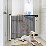 Baby Safety Gate, Minkind Extension Extra Wide Child Gate Indoor Outdoor Retractable Gate...
