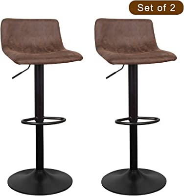 Trend Mark Solid Wood Bar Chair Leisure Creative High Stool Personality Bar Chair Modern Simple Backrest High Stool. Furniture