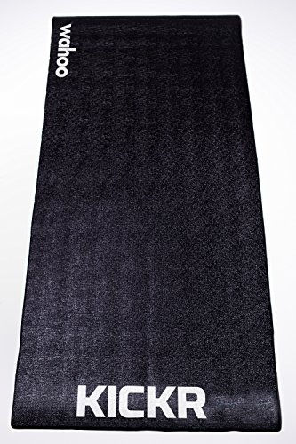 Wahoo KICKR Trainning Mat, color negro, 91.4...