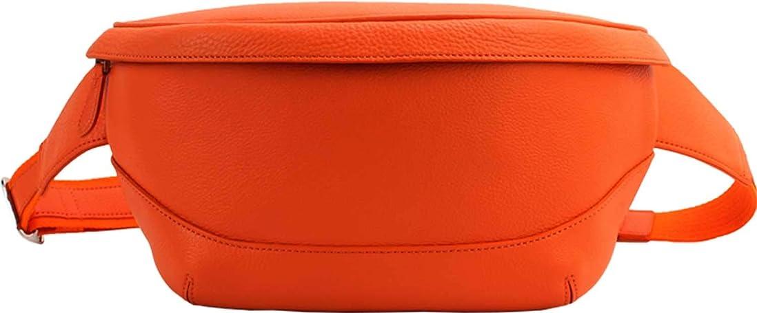 売り手ふさわしい煩わしい[PELLE MORBIDA ペッレモルビダ] シュリンクレザー ウエストポーチ PMO-MB057 Orange(オレンジ)