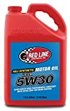 Red Line (15305) 5W30 Motor Oil - Full-synthetic Ester Formula Car Engine Oil - 1 Gallon