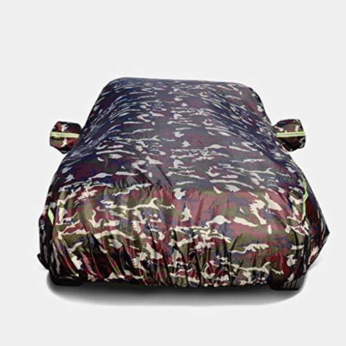 QI-CHE-YI Auto Kleding Auto Cover Zonwering Regenisolatie Zonnescherm Auto Coat Regenjas Universeel Compatibel met Mazda,