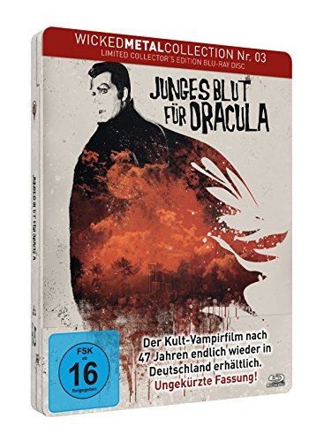 Junges Blut für Dracula - Wicked Metal Collection Nr. 3 - Limited FuturePak Edition / 1000 Stück [Blu-ray]