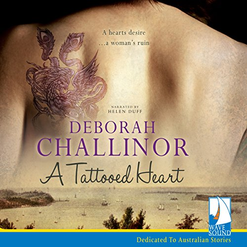 A Tattooed Heart audiobook cover art