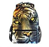 Fantasy Tiger Backpack Laptop Bag Daypack Bookbag