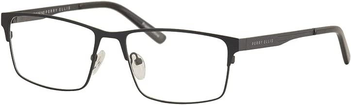 Perry Ellis Men's Eyeglasses PE413 PE/413 2-Dark Turquoise Optical Frame 55mm