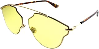 Dior SoRealPop Gold/Yellow Lens Sunglasses