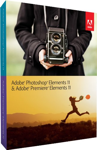 Adobe Photoshop Elements 11 & Adobe Premiere Elements 11 französisch Upgrade
