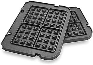 Gvode Waffle Plates for Cuisinart Griddler GR-4N, GR-5B, GR-6 and GRID-8N Series (Not for Old Model GR-4/GRID-8 & GR-300WS)