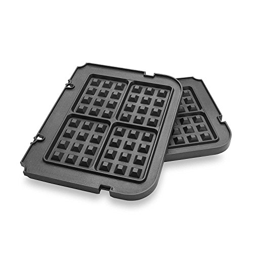 Gvode Waffle Plates for Cuisinart Griddler GR-4N /GRID-8N /GR-5B Series (Not for Model GR-4/GRID-8)