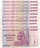 10 x 500 Million Zimbabwe Circulated Used 2008 series AA/AB,P-82 - Genuine rare For collectors, limited, US / Fast ship
