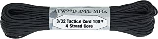 Atwood Mobile Products Paracord 3/32 Tactical Cord 4 Nylon Strand Core 275 Test Weight…