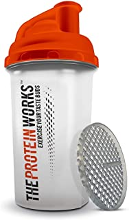 The Protein Works Protein Shaker with Mixerball, Water Bottle, 700 ml