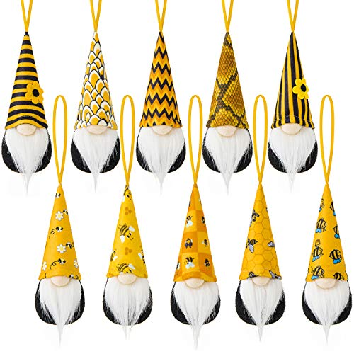 Bee Hanging Gnome Ornaments