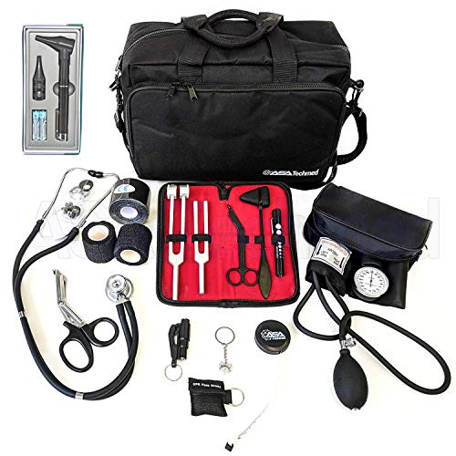 Lowest Price! ASATechmed Nurse Starter Kit - Stethoscope, Blood Pressure Monitor, Tuning Forks, and ...