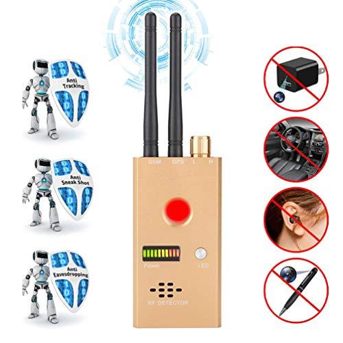 ZZLYY Anti-spy versterking signaaldetector RF spy Bug camera draadloze detector drukapparaat Sweeper frequentie GSM CDMA GPS tracker Finder
