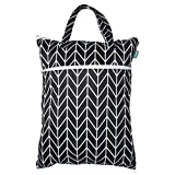Teamoy Travel Hanging Wet Dry Bag Organizer (17.3 x 13.4 inches) with Two...