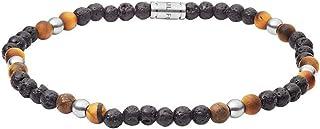 Fossil Men's Silver Bracelet, JF03318040