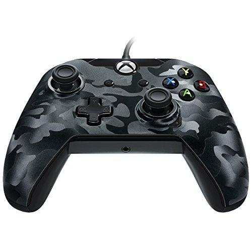 Manette Filaire pour Xbox One/S/X/PC - Camo noir