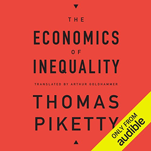 The Economics of Inequality audiobook cover art