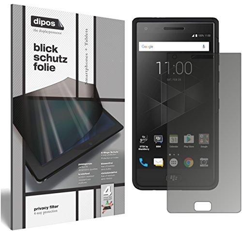 dipos I Blickschutzfolie matt kompatibel mit BlackBerry Motion Sichtschutz-Folie Bildschirm-Schutzfolie Privacy-Filter