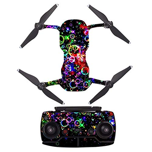 HONG YI-HAT Mooie bellen waterdichte PVC Decal Skin Sticker for DJI MAVIC Air Drone lichaamsbescherming film + afstandsbediening Controllers deksel Drone vervangingsonderdelen