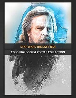 Coloring Book & Poster Collection: Star Wars The Last Jedi Luke Comics