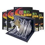 KLMM Trampa de Pegamento para ratón de 10/20 Piezas, Nueva versión fuertemente Adhesiva Las Mejores trampas para ratón, Tablero de Pegamento/roedores/plagas/Insectos/Hormigas/arañas