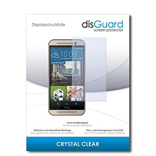 disGuard® Bildschirmschutzfolie [Crystal Clear] kompatibel mit HTC One M9s [4 Stück] Kristallklar, Transparent, Unsichtbar, Extrem Kratzfest, Anti-Fingerabdruck - Panzerglas Folie, Schutzfolie