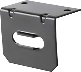 CURT 58300 Vehicle-Side Trailer Wiring Harness Mounting Bracket for 4-Way Flat