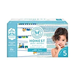 ADORABLE DIAPERS: This box is packed with hypoallergenic, super soft, ultra absorbent, gentle, and safe disposable diapers in adorable, posh prints, with soft, stretchy side panels, comfy elastic waistband, sure fit leg cuffs, and fastening tabs SUPE...