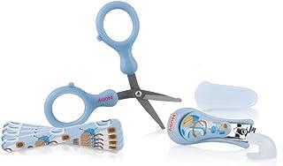 Kit Manicure Infantil, Azul Bebê, Nûby, Azul Bebê