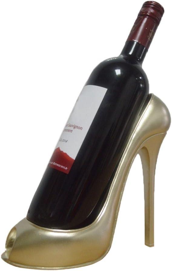 BeautyShe Now free shipping Unrestrained Finally resale start High Heel Shoe Stylish Rack - Wine shape