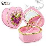 TwoCC Best Rotatable Music Box Juguetes para niños Best Ballet Music Box Girl Gift (Pink)