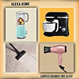 Vacuum Cleaner,Hair Dryer,Washing Machine,Fan,Blender,Mixer and Air Conditioner Sounds Looped for Sleep.ASMR...