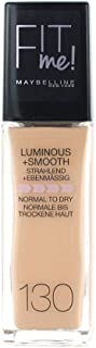 Maybelline Fit Me Luminous plus Smooth Foundation 130 Buff Beige
