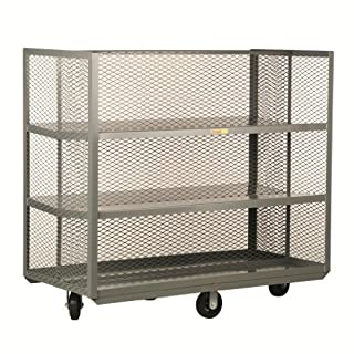 """Little Giant PPT-2860-6M Pick-Pack Bulk Handling Truck with Sloped Shelves and Divider, 1600 lbs Capacity, 60"""" Length x 28"""" Width (B005E1ZSU2) 