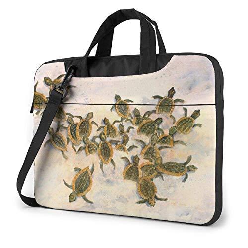 Sea Turtles Unisex Laptop Bag Messenger Shoulder Bag for Computer Briefcase Carrying Sleeve