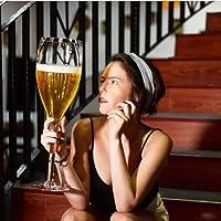 特大巨大なワイングラス全体のボトルブランデーグラスウイスキービールジュース赤ワイン水特大誕生日のためにカップ、グレートを飲みます (Size : 2500ml)
