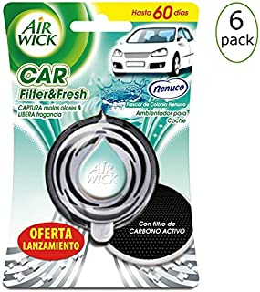 Nenuco Air Wick Car Filter & Fresh Pack of 6