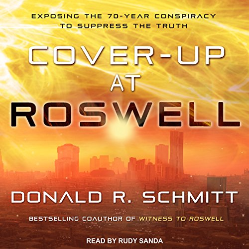 Cover-Up at Roswell audiobook cover art