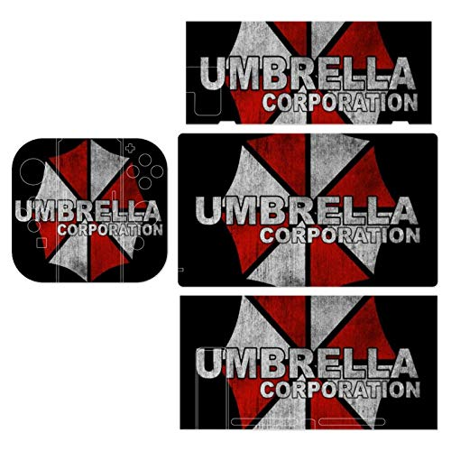 Resident Evil Umbrella Corp Logo Theme Switch exclusive skin, Nintendo Switch sticker protective film, Switch full device exclusive skin sticker protective film