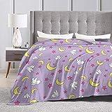 Baulerd Usagi Blanket Ultra-Soft Micro Fleece Blanket 50'' x40